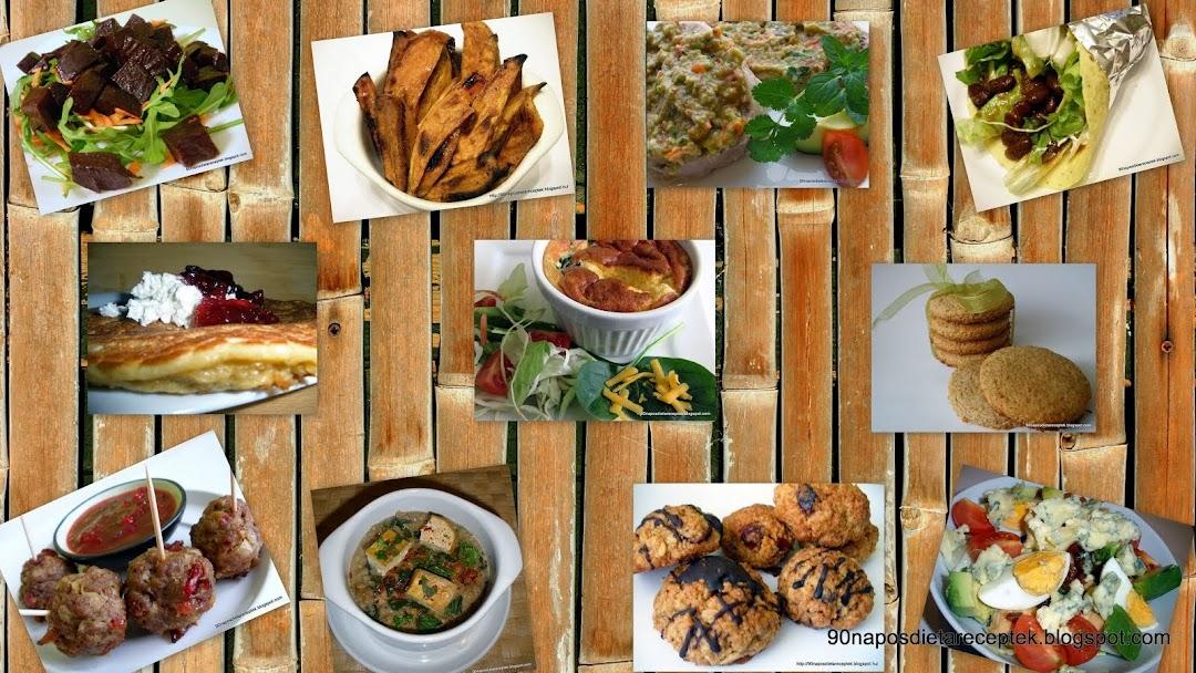 Attila  és Judit 90 napos diéta és recept blogja
