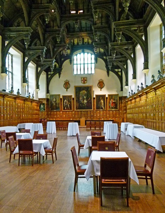 Middle Temple Hall, double hammer beam roof, Tudor, Elizabethan, Plowden
