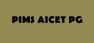 PIMS AICET PG 2016