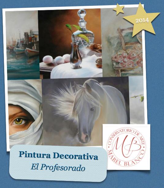 MIS CLASES DEL PROFESORADO DE PINTURA DECORATIVA