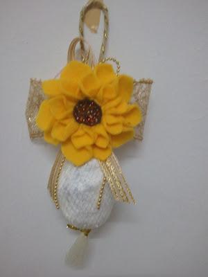 felt, flower, bunga, murah, hair accessories, wedding, door gift, bunga telur