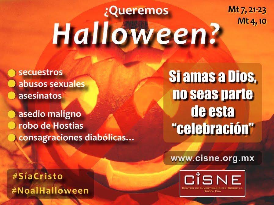 Campaña: ¡No al Halloween!