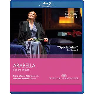 FRESCHE NOTE - DVD: RICHARD STRAUSS: ARABELLA (2012 VIENNA STATE) (Emily Magee/ Genia Kuhmeier/ Tomasz Konieczny/ Orchestra della Vienna State Opera/ Franz Welser-Möst/ Sven-Eric Bechtolf)