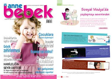Anne Bebek Dergisindeyiz:)