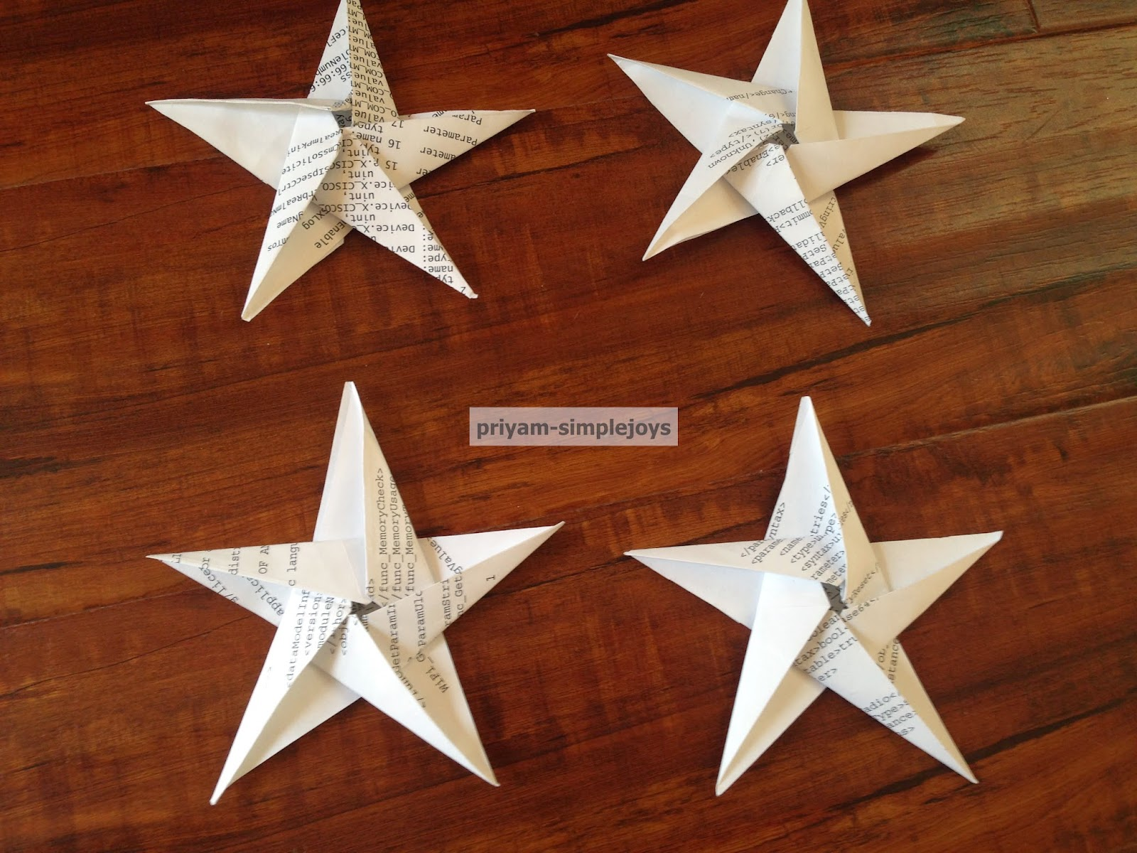 Simplejoys 8 Point Origami Star