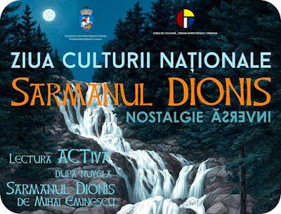 Lectura activa de Ziua Culturii Nationale