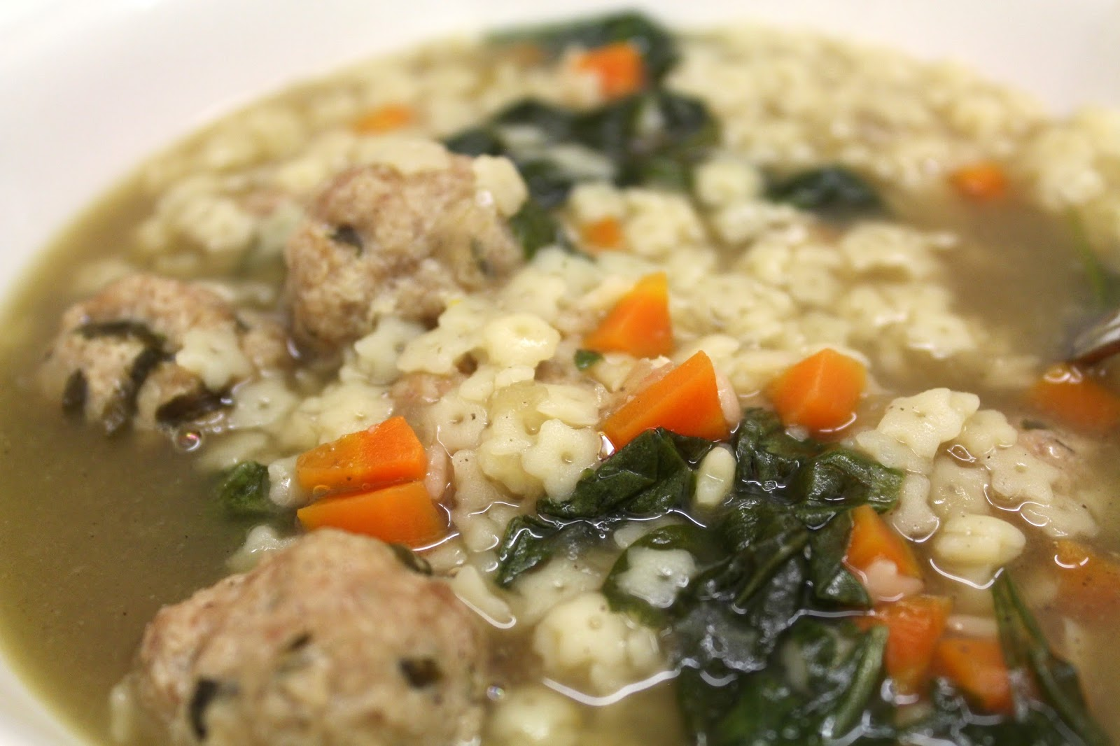 Crock Pot Italian Wedding Soup with Turkey Meatballs from ...