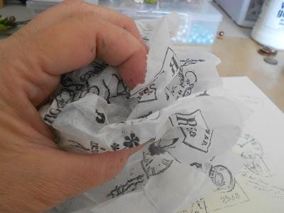 crinkle paper