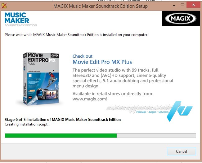 MAGIX Music Maker Soundtrack Edition Versión 19.0.7.61