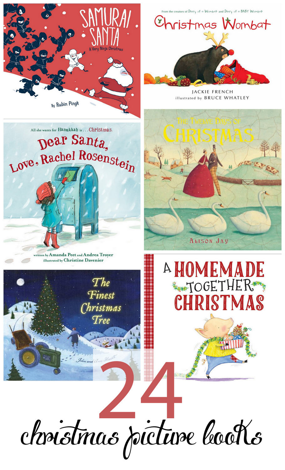 A great list of picture books to read in December, every day until Christmas. So many good picks, new and old here!