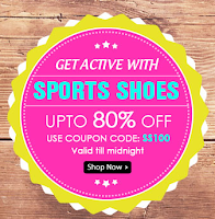 Homeshop18 : Sports Shoes upto 80% Off : Buytoearn