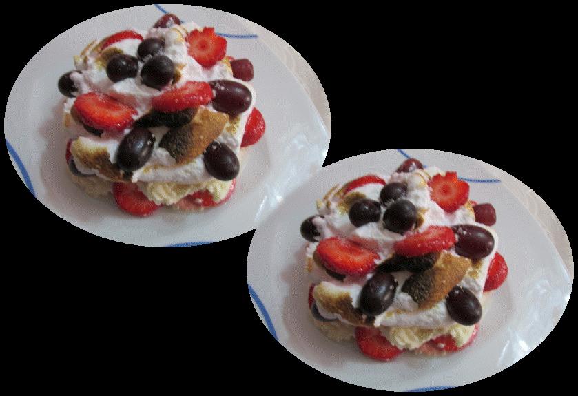 Tartitas de merengue con frutas cocina y thermomix - Macedonia de frutas thermomix ...
