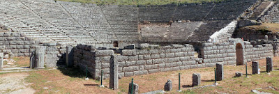 Το αρχαίο θέατρο της Δωδώνης, που χρονολογείται στον 3ο π.Χ. αιώνα