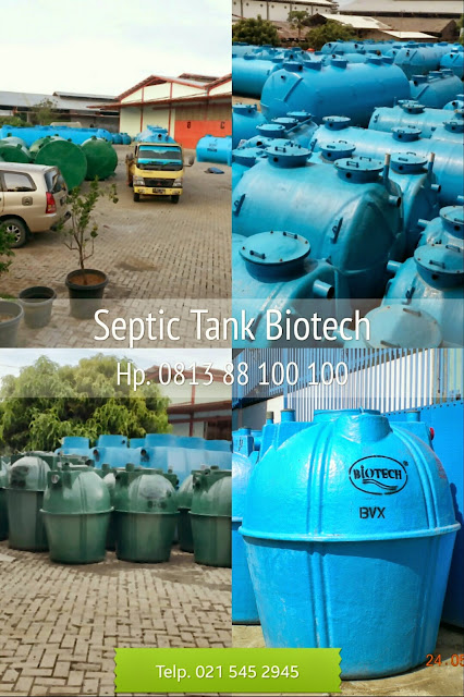 pabrik septic tank biotech go green, biofil, biogift