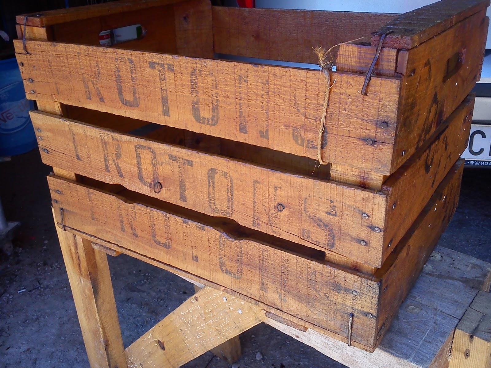 restaurar una caja vieja de madera
