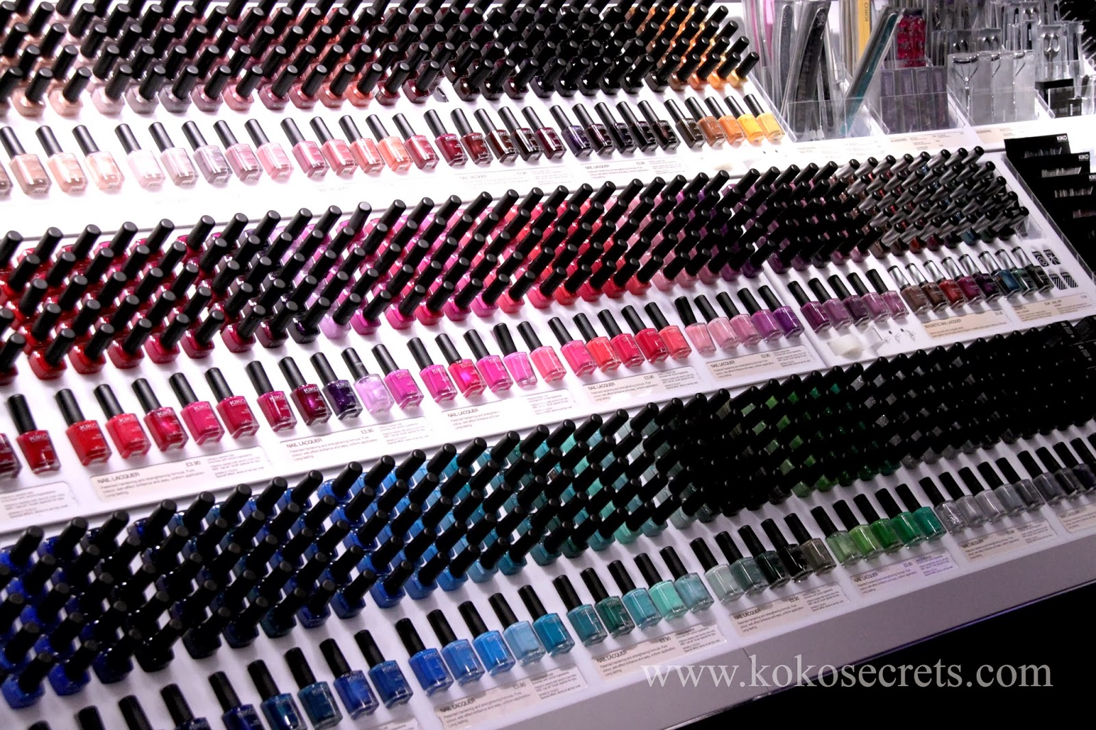 Makeup Heaven ~ KIKO Make Up Milano Regent Street Flagship Store In ...