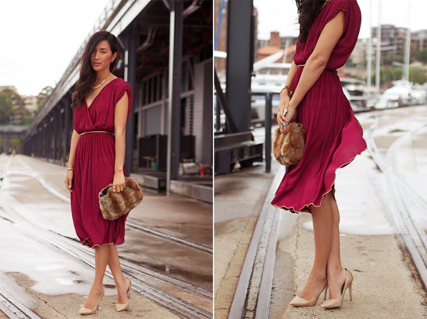 Модные блоггеры в платьях