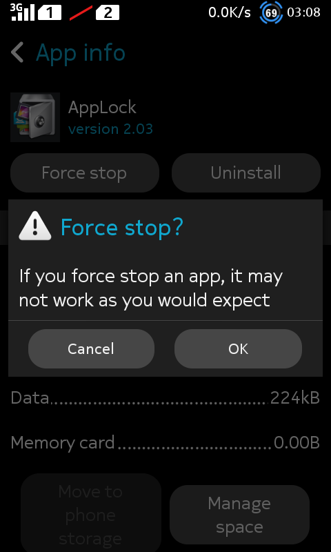 Force Stop App Lock - Kecopet Blog