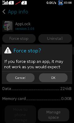 Force Stop App Lock - Kecopet Blog