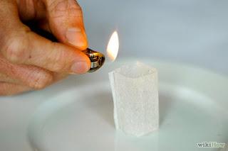 Percobaan Fisika Asyik: Roket Kantung Teh