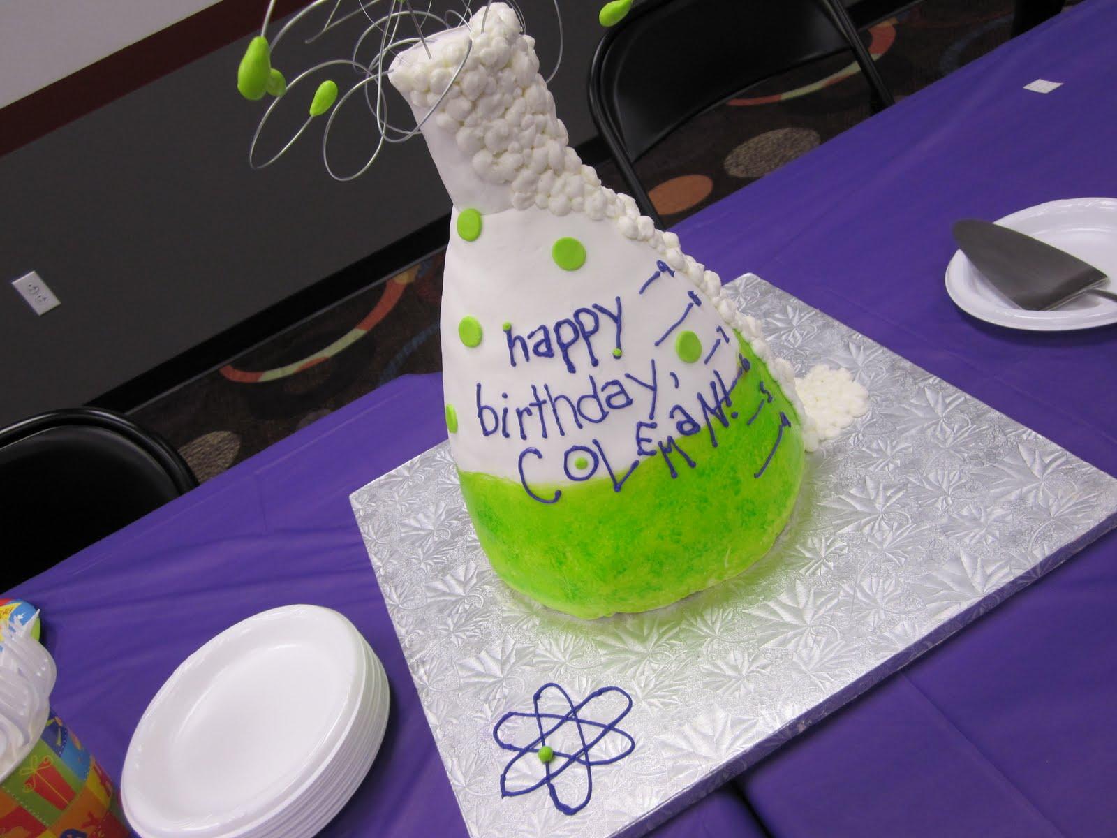 cakes for goodness sakes flask cake dexter u0027s laboratory