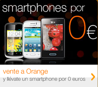 VENTE A ORANGE Y MIRA QUE CHOLLOS: