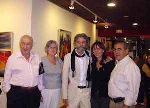 Carmen Puri y Paco Carrillo en mi exposición
