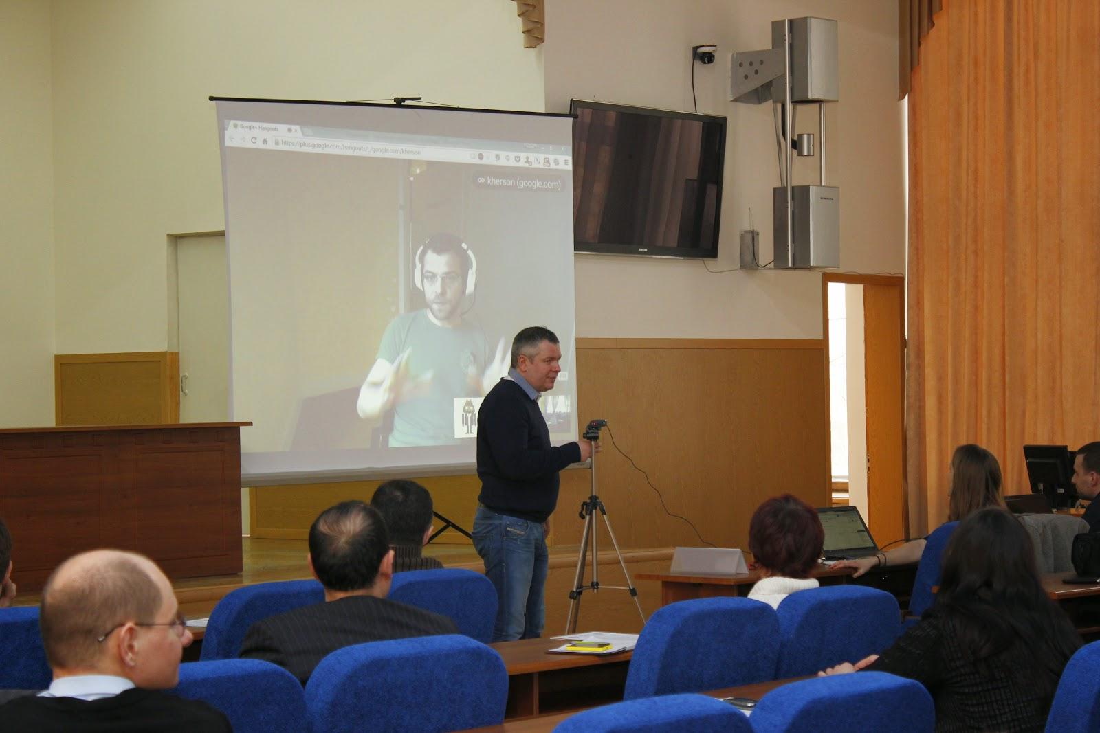 Онлайн включение Андрея Липатцева, специалиста по работе с веб-мастерами Google