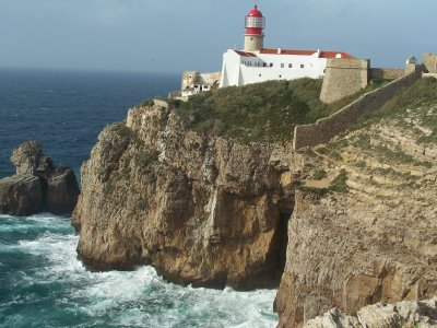 Cabo de san vicente in sagres portugal - Cabo san vicente portugal ...