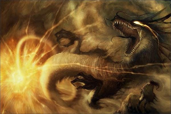 dragones poderosos