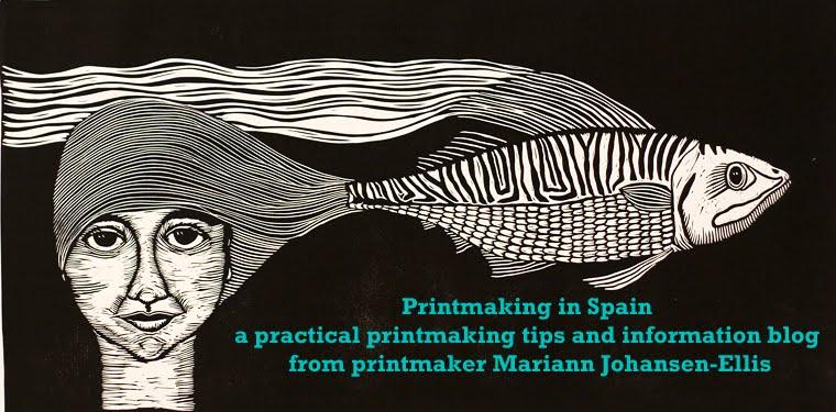 Printmaking in Spain - Mariann Johansen-Ellis
