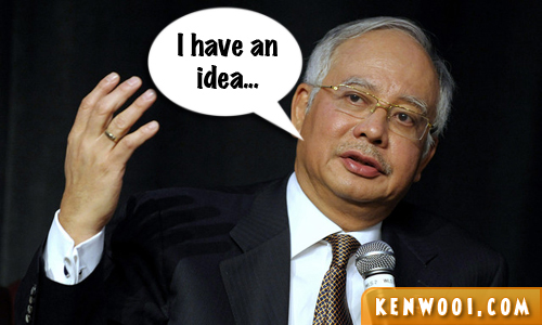 najib speech idea