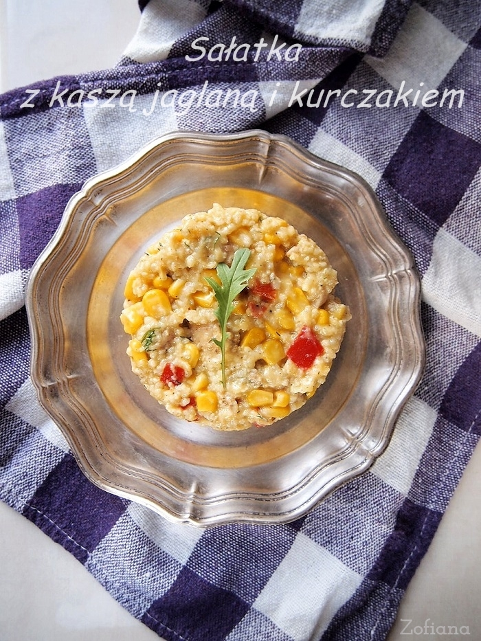 millet salad with chicken