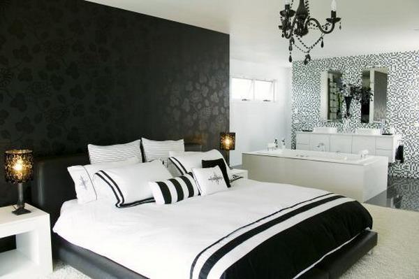 Papel de parede para quarto de casal  Ideias decoração mobiliário