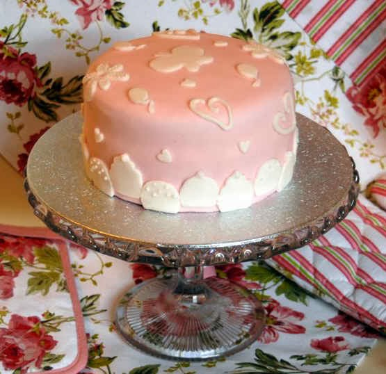 A Little Bit Of Everything Pink Birthday Cake Sister In Law S