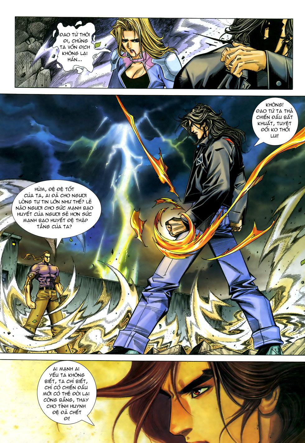 X Bạo Tộc chap 33 - Trang 14