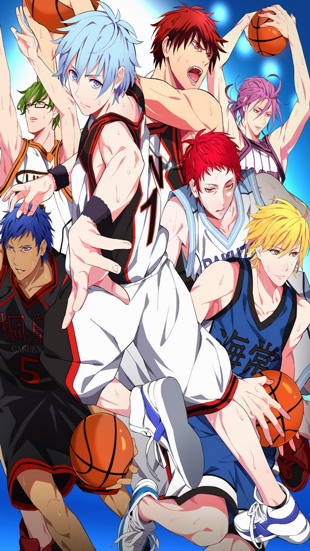 Kuroko No Basket Season 2 IPhone 5S 5C Wallpaper Generation Of Miracles Kagami Taiga