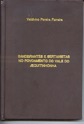 """Livro """"Bandeirantes e Sertanistas"""""""
