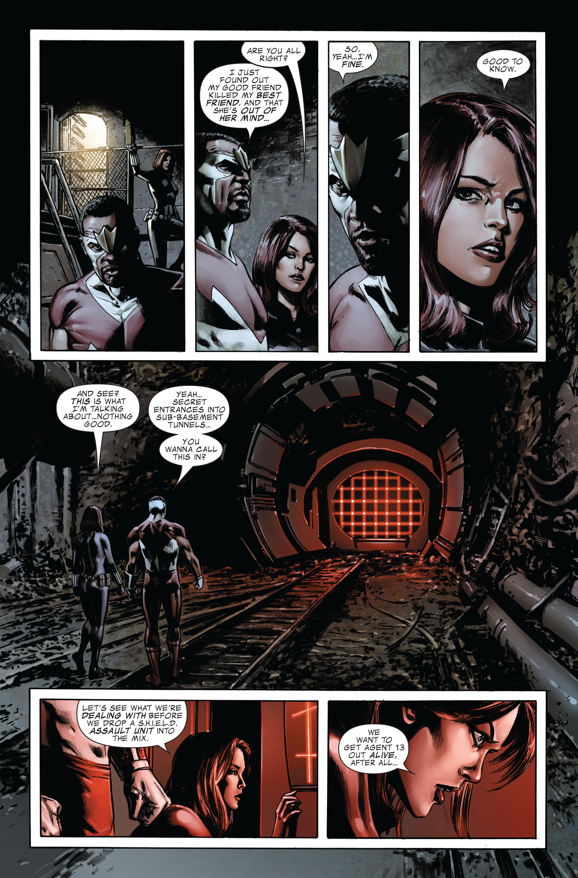 Captain America (2005) Issue #32 #32 - English 7