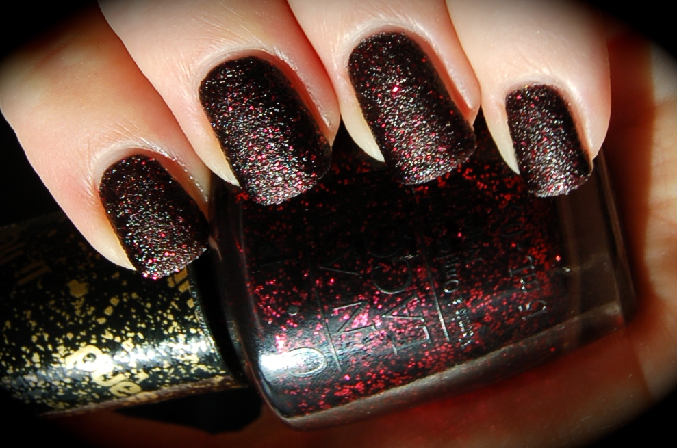 Swatch of OPI Stay the Night, bilder OPI Stay the Night, OPI MAriah Carey collection 2012, nail polish, blogg nagellack
