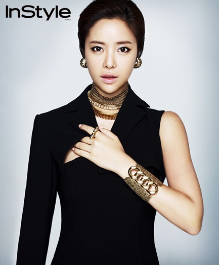Hwang Jung Eum On InStyle Magazine