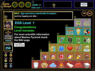 Pyramid of Maslow Screenshot