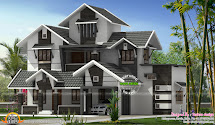 Modern Kerala Home Design - And Floor Plans