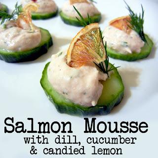 Derek 39 s kitchen december 2011 for Salmon mousse canape