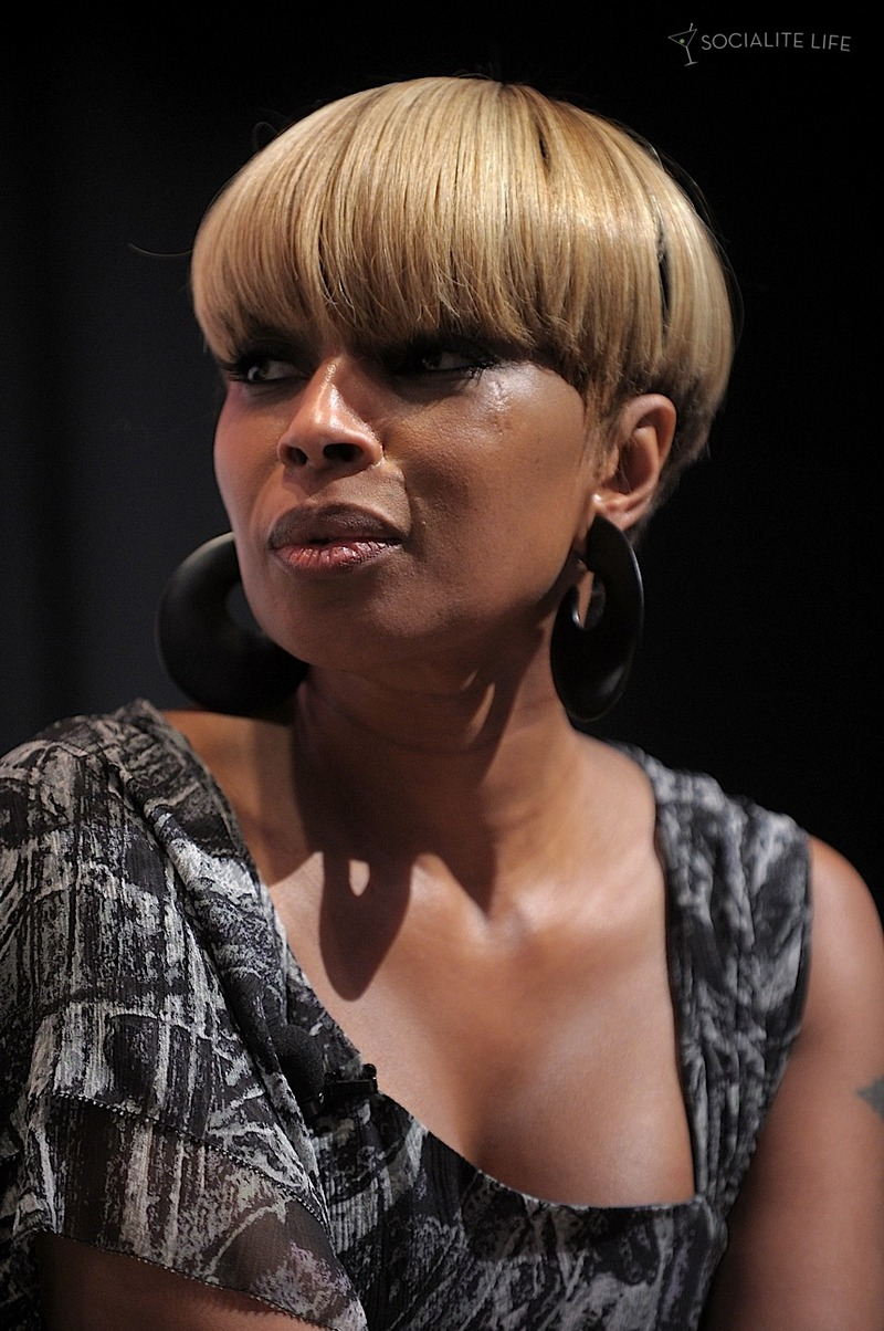 Mary J Blige Hairstyle Trends Mary J Blige Hairstyle Pictures
