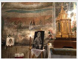 Peregrinació de la relíquia de Sta. Bernardette a Reus (2-11-2019)