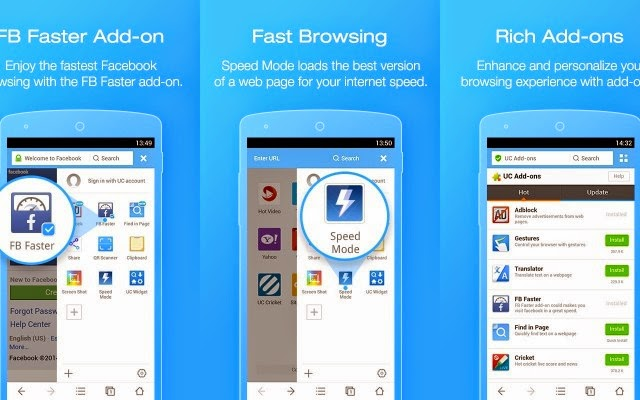 Download UC Browser 9.9.2 Untuk Hp Android di Google Play