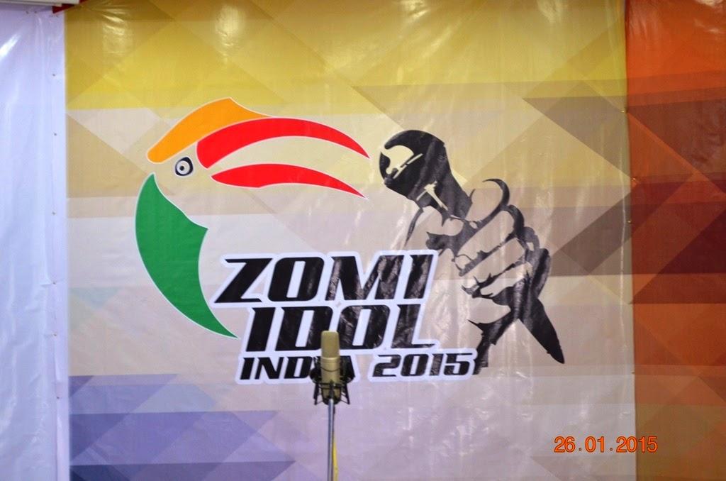 Zomi Idol India-2015  adi'n lasiam 56 kuan