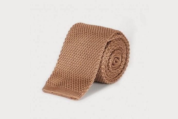 Krawat z dzianiny - yoos.pl