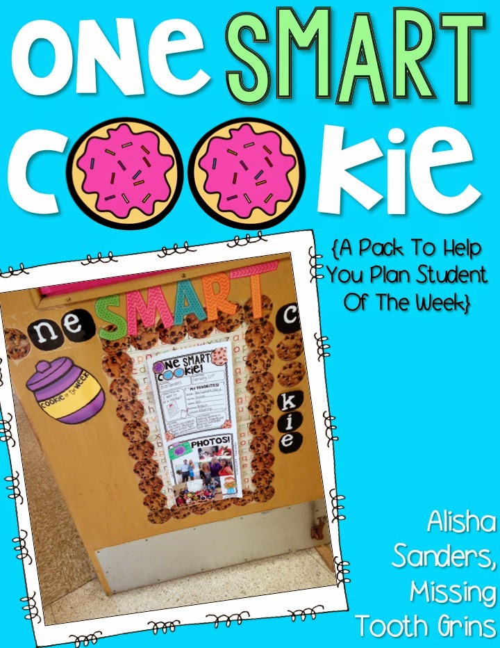 https://www.teacherspayteachers.com/Product/One-Smart-Cookie-Student-of-the-Week-1402901